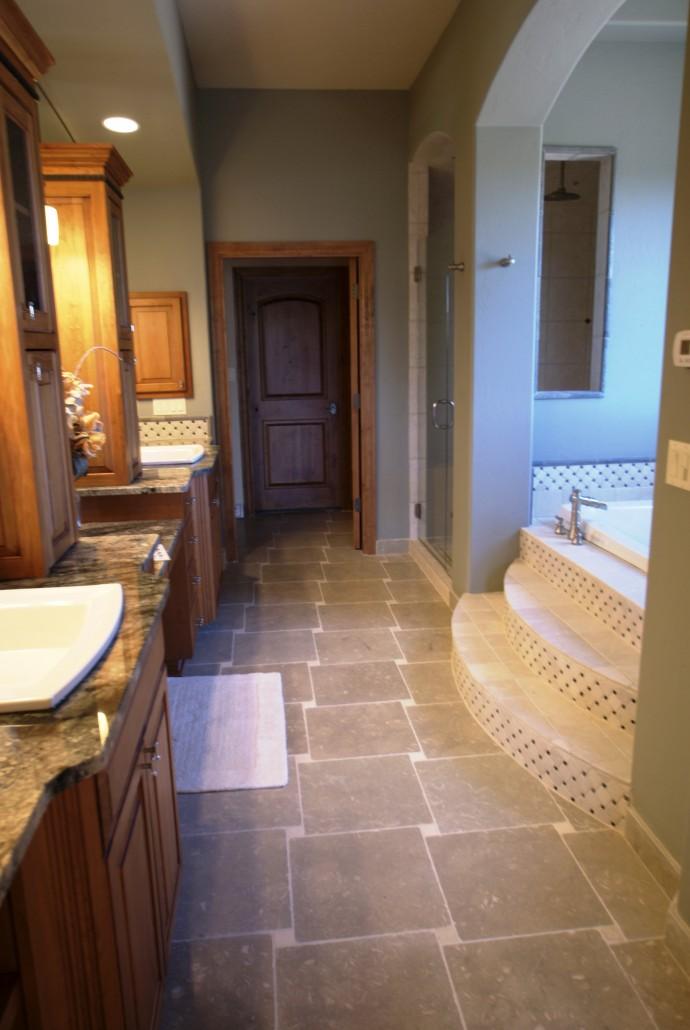 Custom Home Bedrooms & Bathrooms
