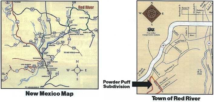 Red River Area Maps