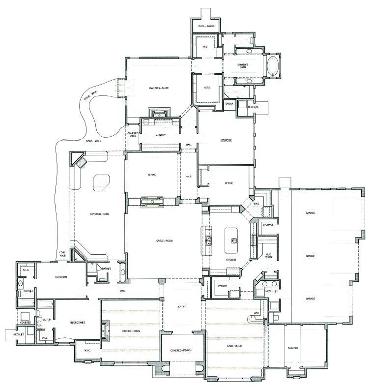 north valley tuscan home floorplan