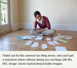 common homeowner tax errors