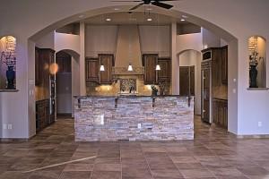 North Valley Southwestern contemporary kitchen