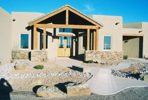 Craftsman design in North Albuquerque Acres
