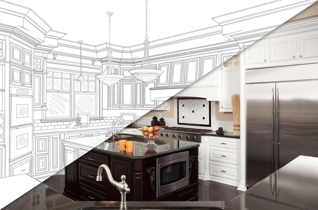 builders rush finishing custom home