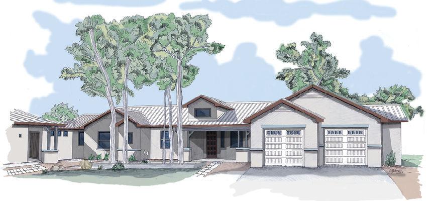 2017 custom home 7910 Rancho de Roberto Albuquerque