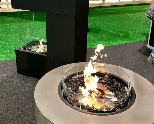 custom home ecosmart outdoor fireplaces