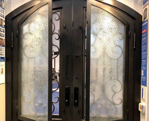 custom home glasscraft steel thermal break door