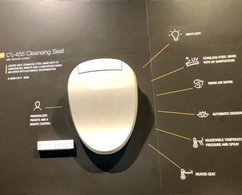 custom home kohler toilets