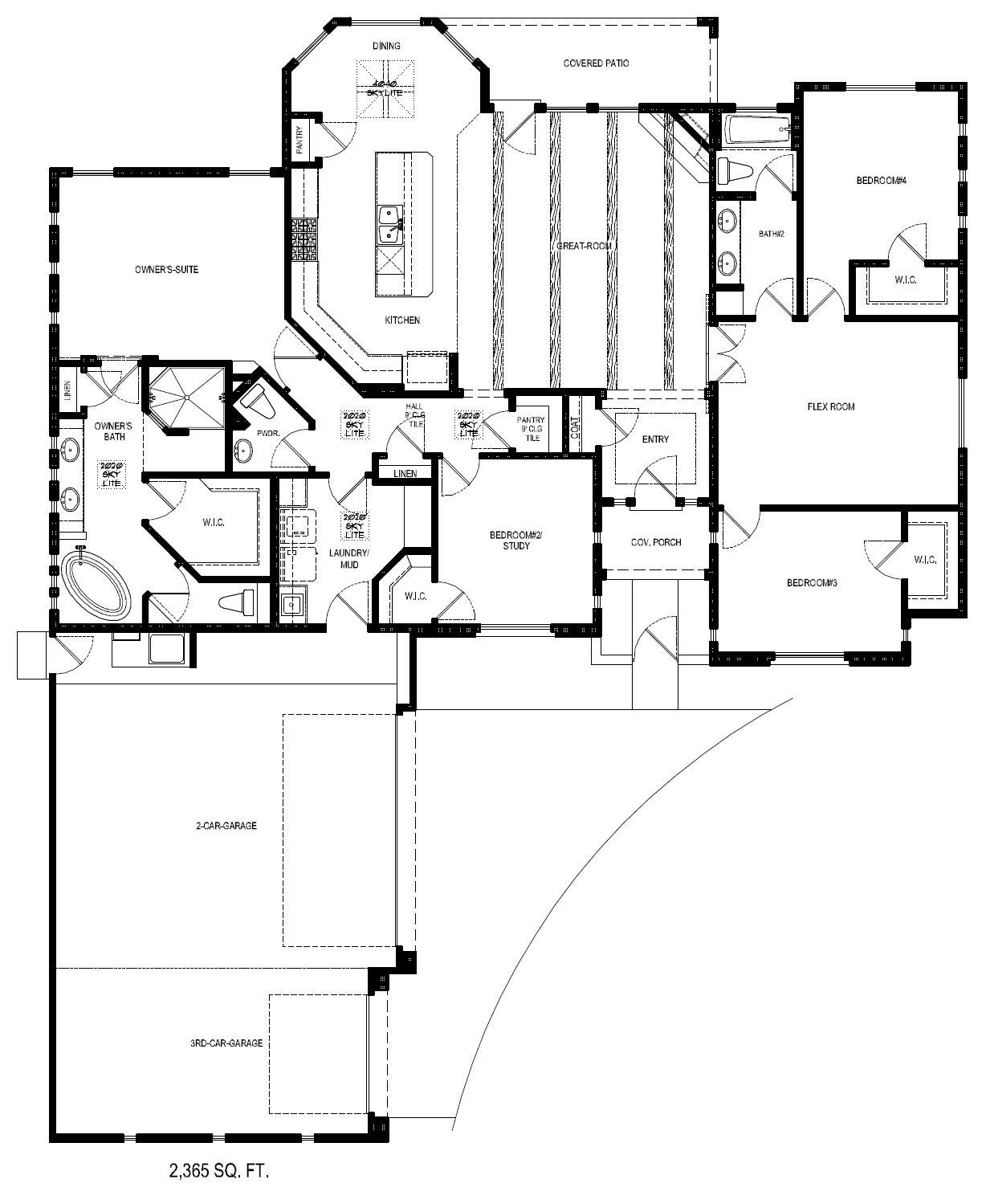 North Valley Farmhouse Floorplan