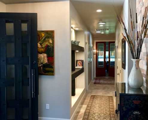 North Valley Custom Home Entry Hall