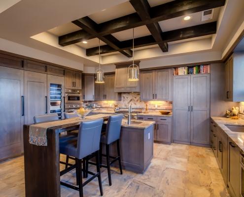 North Valley Custom Home Kitchen