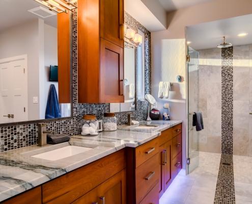 North Valley Custom Home Master Bath