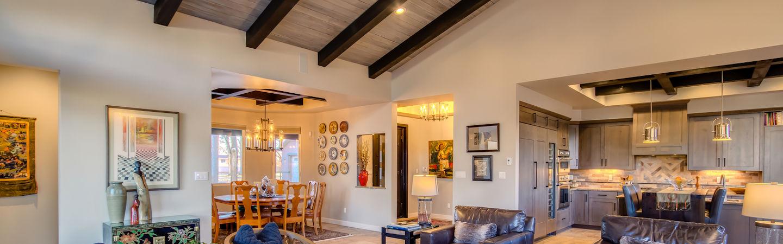 lee michael homes custom home interior